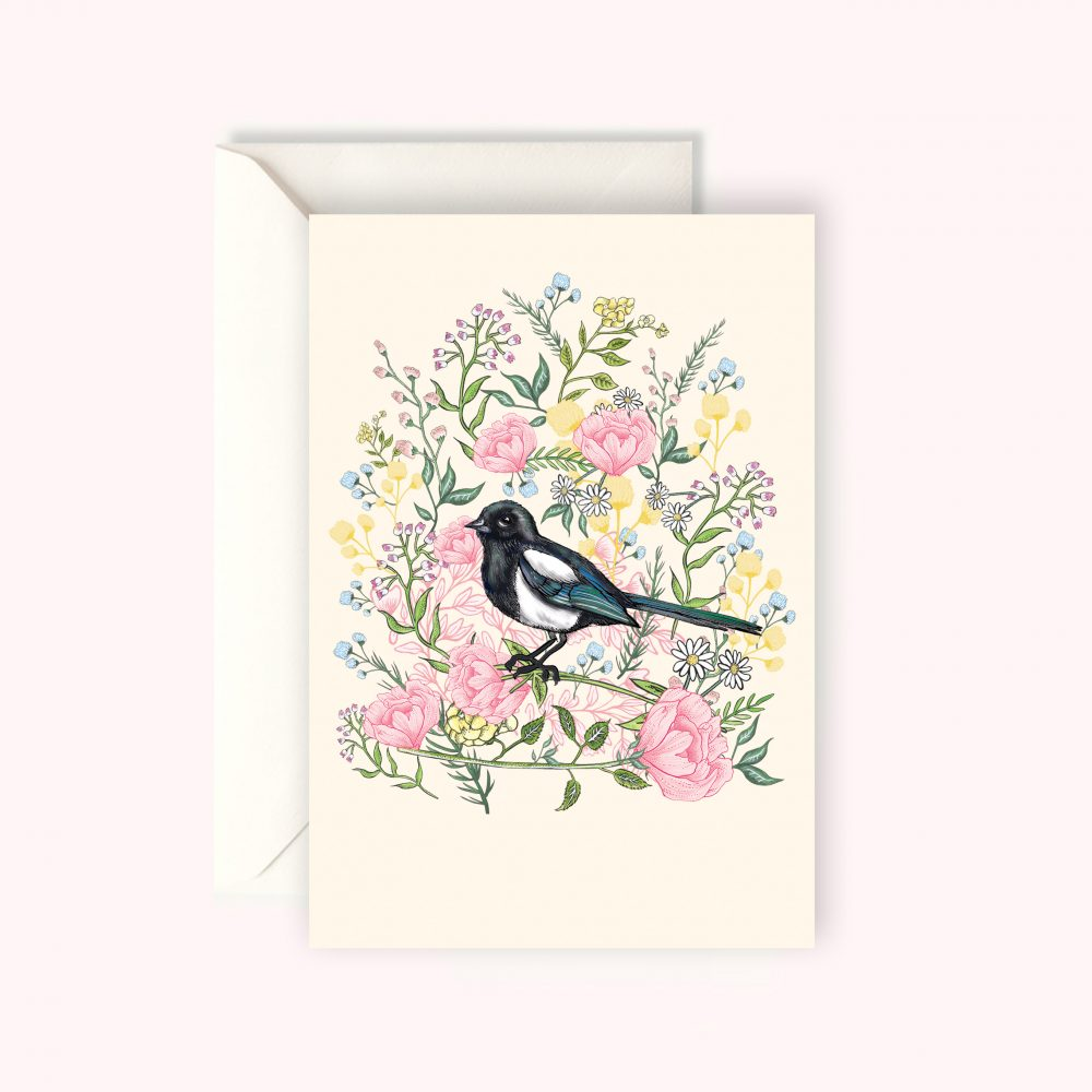 Magpie card KC