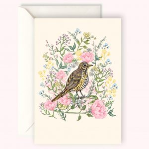 Songthrush card